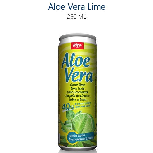 Lattine di Aloe Vera al Lime