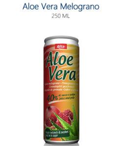 Lattine di Aloe Vera al Melograno