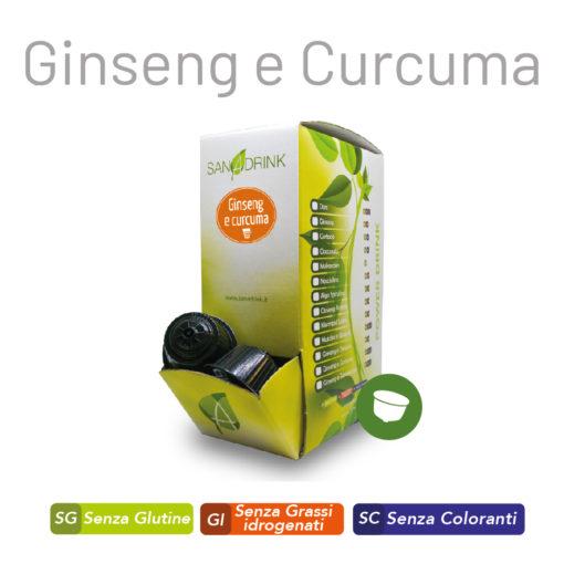 Capsule Ginseng e Curcuma