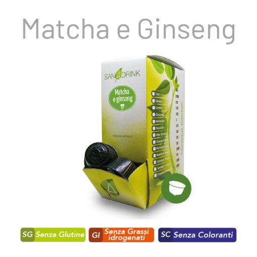 Capsule Matcha e Ginseng