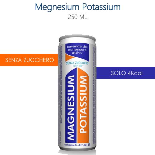 Lattine di Magnesium Potassium