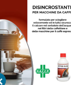 Coffee Clean decalcificante