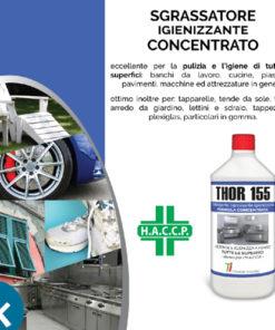 Sgrassante Concentrato Thor 155