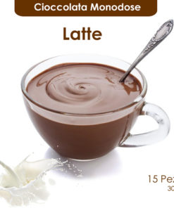 Cioccolata calda monodose al latte