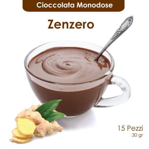 Cioccolata calda monodose allo zenzero