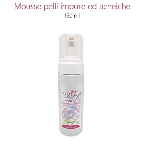 Mousse n.1 detergente per pelli impure ed acneiche